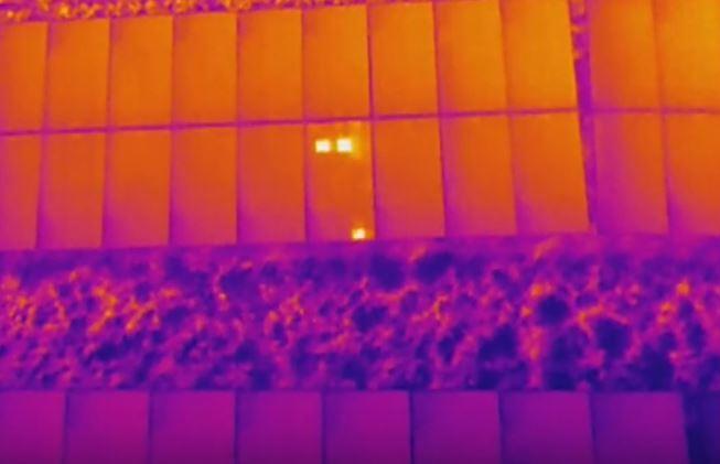 Inspectie zonnepaneel